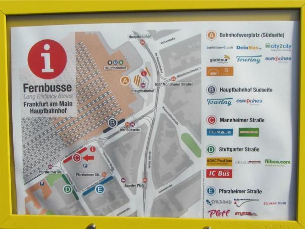 Fernbus fahrplan